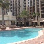 Pool Mit Blick zur Lobby