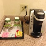 keurig coffee in room