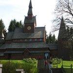 Einzigartige Stabkirche in Hahnenklee
