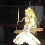 Mermaid theme at hotel, see Barbie swing