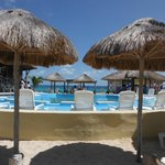 pool area at Punta Morena