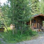 een van de cottages