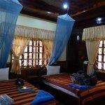 Zimmer im Haupthaus mit Klimanalage