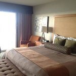 king bed room with oceanfront view. Room #39