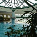 Interno della piscina