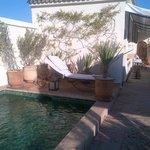 La piscine en terrasse