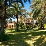 Luxueuse villa de vacances avec jardin à louer à Marrakech au Domaine Rosaroum