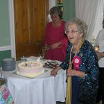 We are a perfect venue for a family celebration. This was a guest 100 years young with her famil