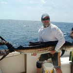 Sailfish with Capt. Steve and Sammy