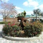 Sorceror Mickey Topiary