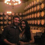 The barrell room