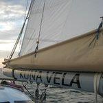 on board / sail
