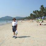 Me at lovely Palolem Beach