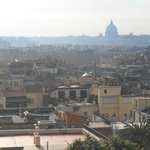 View of Rome from Villa Borghese