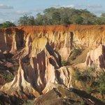 foto dei pinnacoli presa dall'alto