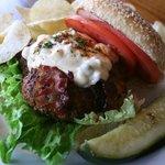 Black & Bleu Burger - everyones favorite!
