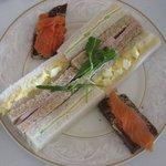 Afternoon Tea Sandwiches Presentation