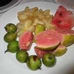 Fruta do pequeno almoço