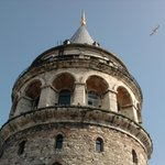 Galata Tower view from the terrace