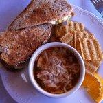 Egg Salad Sandwich w/cup of soup