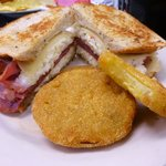 Southern Reuben and Fried Green Tomatoes