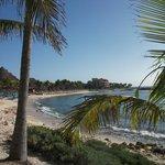 Peu de plage et beaucoup de roches