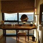 Penthouse suite vanity