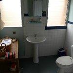 Room Zebu's bathroom