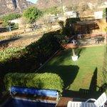 Jardin y patio con asador y zona de relax