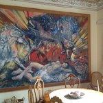 Dans le Hall, tableau de Otazzo