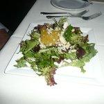 Bland salad.