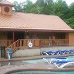 The lodge at White Oak Resort & Lodge.
