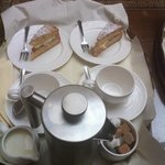 Tea and cake on arrival, very welcoming