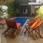 The pool at Hotel Con Corazon