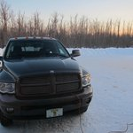 -18.8°F, truck plugged in