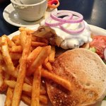 French Onion Burger w/ Fries