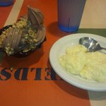 tapiocoa and ice cream sundae