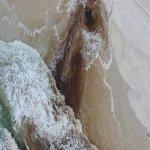 Nasty drain on the beach!