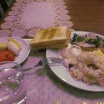 結構満足の朝食