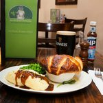 award winning beef and Guinness Pie