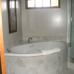 Jacuzzin tub in room