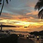Sunset at Diamond Hut Restaurant
