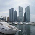 View from Busan Marina