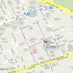 Map to reach hotel