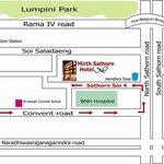 Map - Mirth Sathorn Hotel