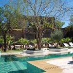 vue hotel, piscine