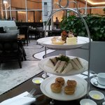 Afternoon Tea served in the Hotel's Cafe