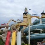 The slides castle