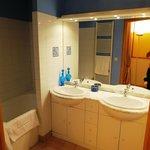 salle de bain de la chambre Monet