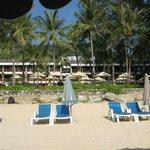 Thani Wing Haus mit Pool und Garten, Begrenzung zum Strand